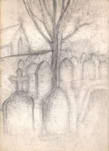 tombstones-and-tree-pencilstudy-3