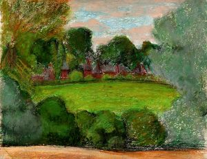 24_oil-pastel-trees-and-houses