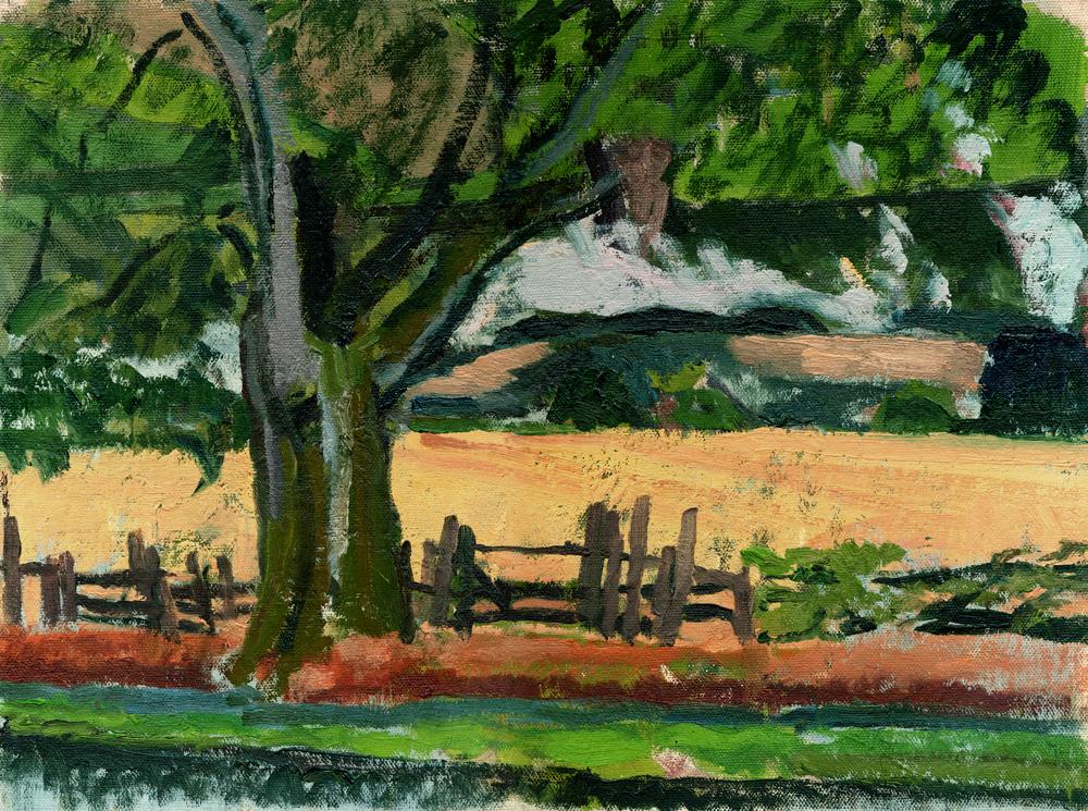Fauvist style landscape